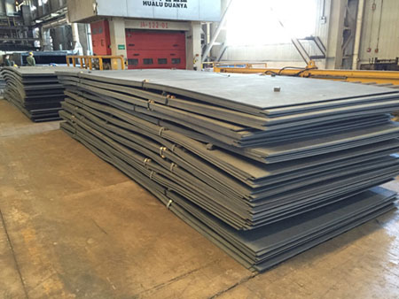 BV Grade AH36 Shipbuilding Steel Plates and Angle Steel