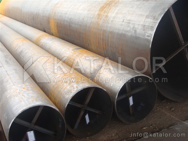 ASTM A249 TP316N welded stainless steel pipe