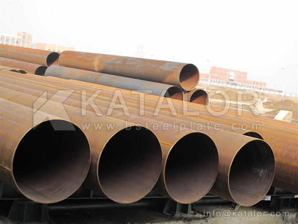 ASTM A249 TP316L welded stainless steel pipe