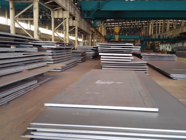 RINA Grade D36 Shipbuilding Steel Plate Impacting Test